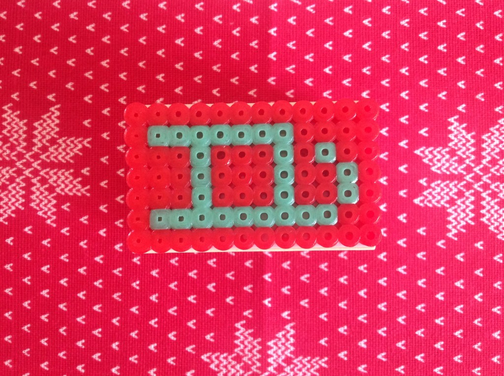 jul med strygeperler